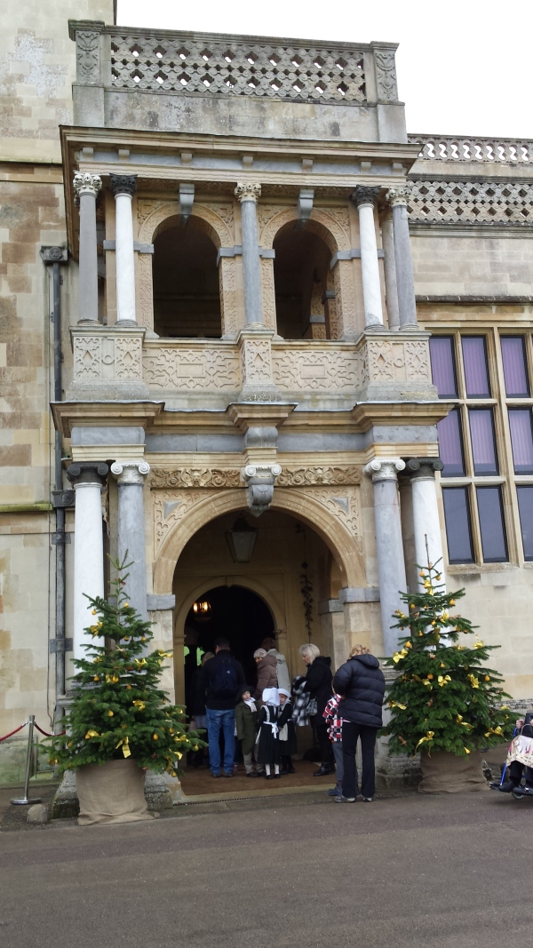 Upstairs And Downstairs For Christmas At Audley End House