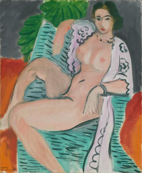 Draped Nude Henri Matisse