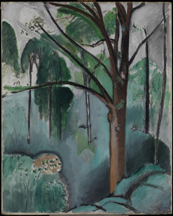 Trivaux Pond 1916 or 1917 by Henri Matisse 1869-1954