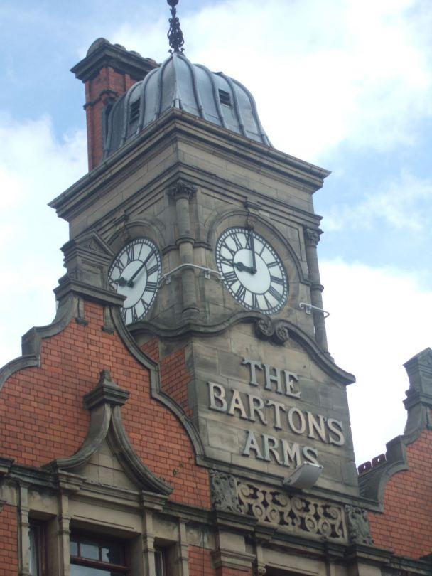 Bartons Arms Clock Tower 2011