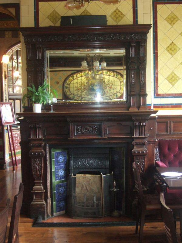 Bartons Arms Fireplace 2011