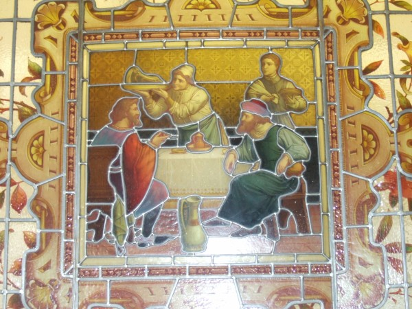 Bartons Arms - Stained Glass