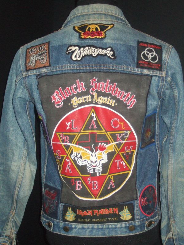 black sabbath jacket