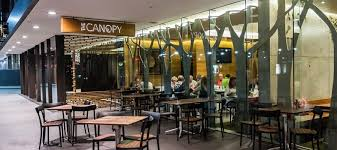 During business hours The Canopy sets up a very popular coffee cart which is frequented by both tourists and office workers alike and is a great place for ... & Dining Out u2013 The Canopy u2013 Sydney u2013 Australia u2013 The Travel Locker