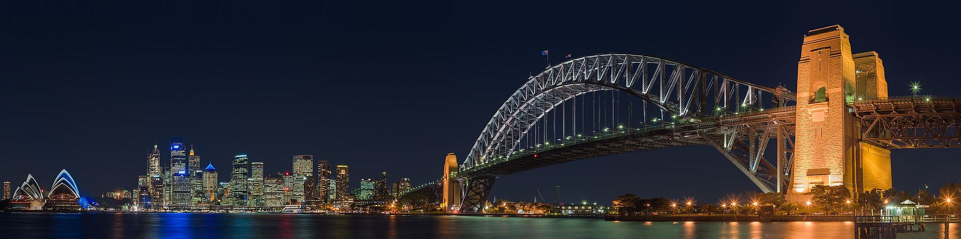 Sydney_Harbour_Bridge_night