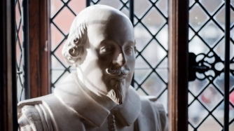 Shakespeare Bust.