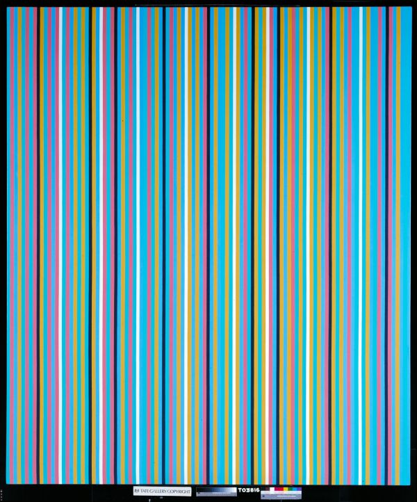 Bridget Riley, Achaean, 1981 © Tate, London 2015 © Bridget Riley 2017. All rights reserved