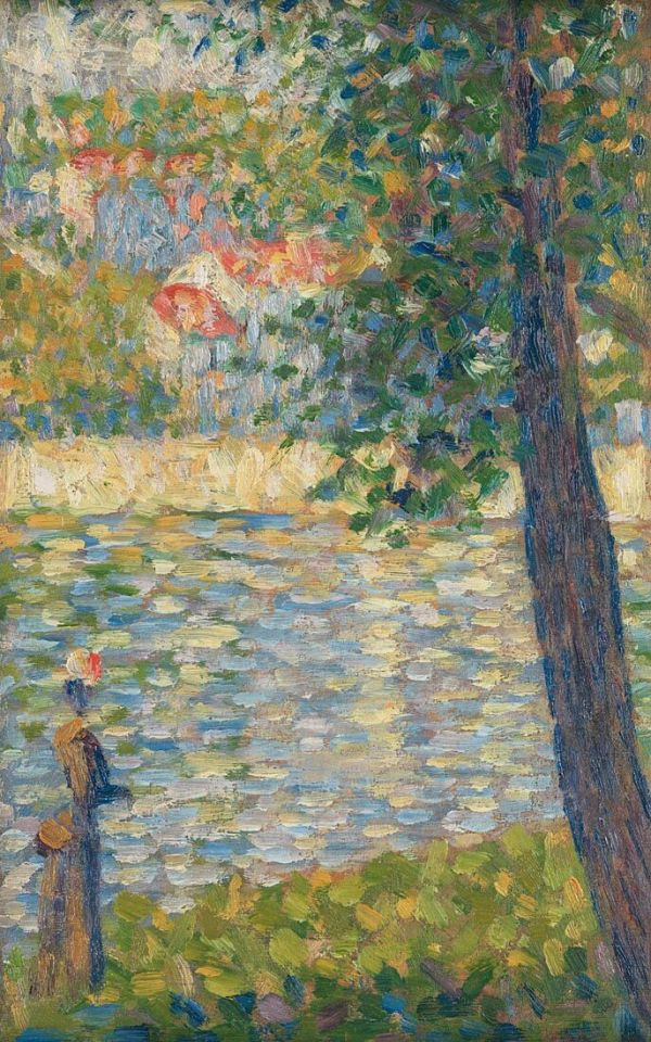 George Seurat, The Morning Walk, 1885 © National Gallery, London