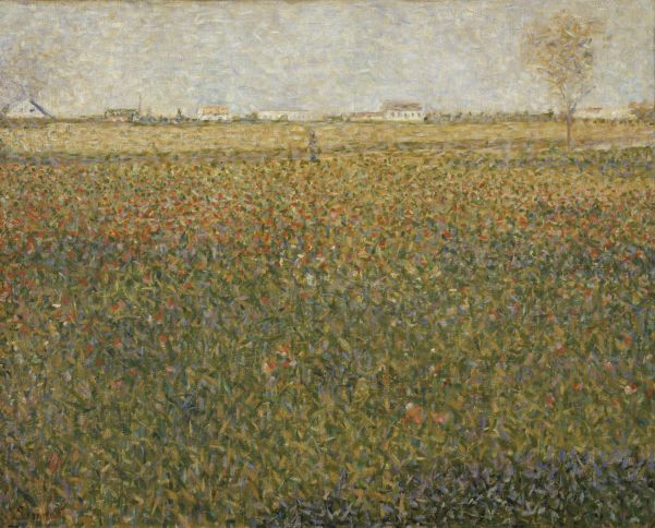 Georges Seurat, La Luzerne, Saint-Denis, © Scottish National Gallery