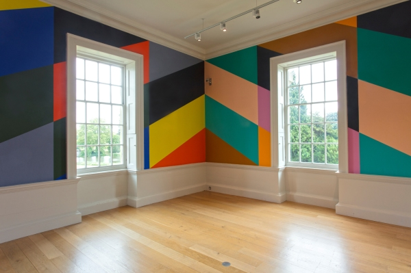 Installation Shot of 'Salon Diagonale (Compton Verney)' by Lothar Goetz © Compton Verney photo by Jamie Woodley (1)