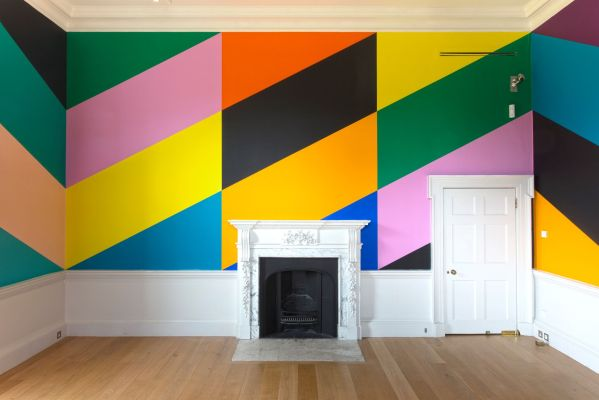 Installation Shot of 'Salon Diagonale (Compton Verney)' by Lothar Goetz © Compton Verney photo by Jamie Woodley (2)