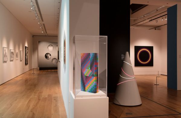Installation Shot of Seurat To Riley Exhibition © Compton Verney photo by Jamie Woodley (11)