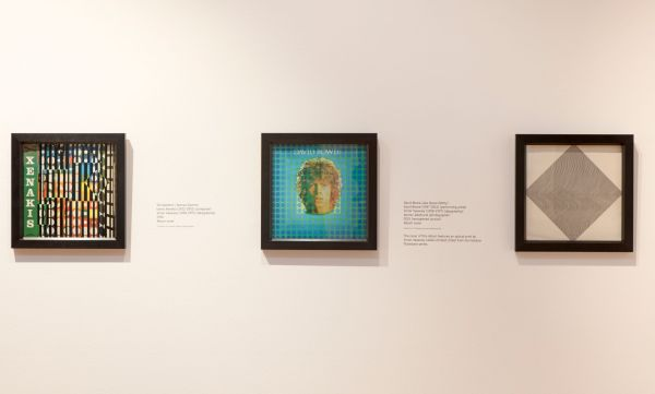 Installation Shot of Seurat To Riley Exhibition © Compton Verney photo by Jamie Woodley