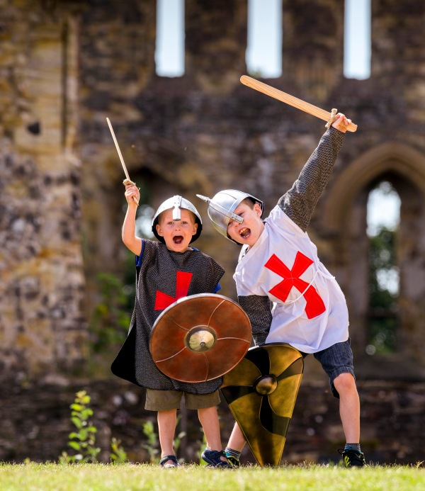 Medieval Fun at Kenilworth Castle