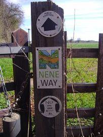 Nene Way signpost