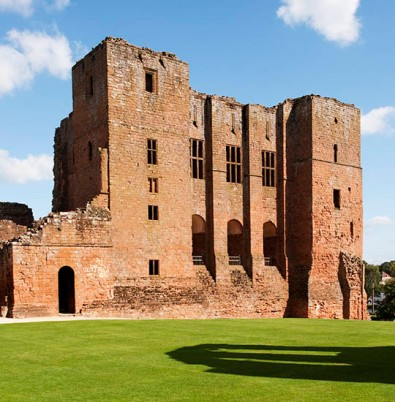 English Heritage Property. Kenilworth Castle, Castle Green, Kenilworth, Warwickshire. Keep.