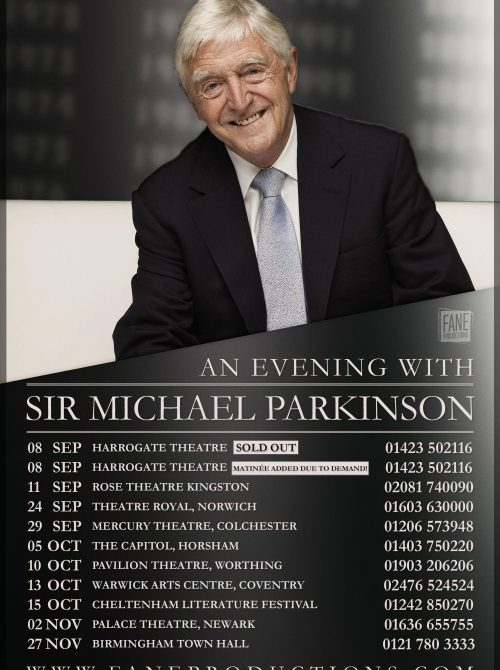 MICHAEL-PARKINSON- Tour poster