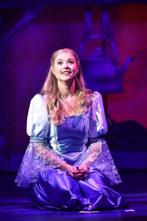 Alice Rose Fletcher as Cinderella - Credit Robert Day