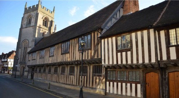 Exterior Shakespeare's Schoolroom & Guildhall