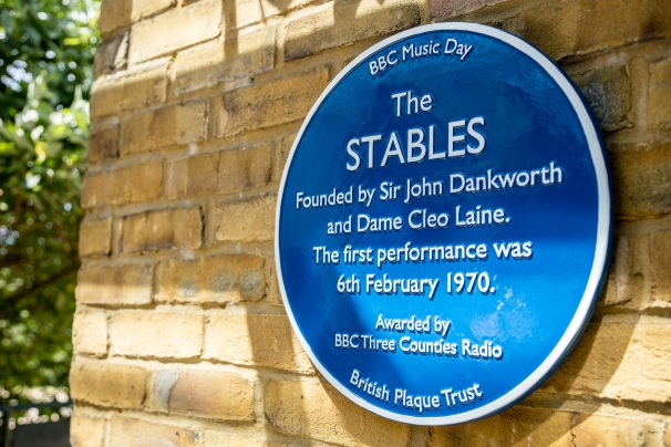 Stables Blue-Plaque