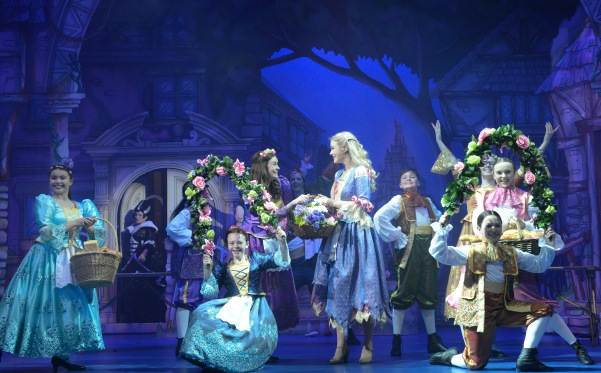The cast of Cinderella at the Belgrade Theatre - Credit Robert Day