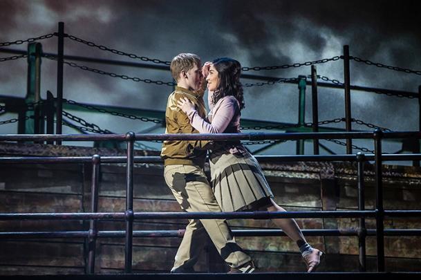 Last Ship - Matt Corner as young Gideon and Parisa Shahmir as young Meg