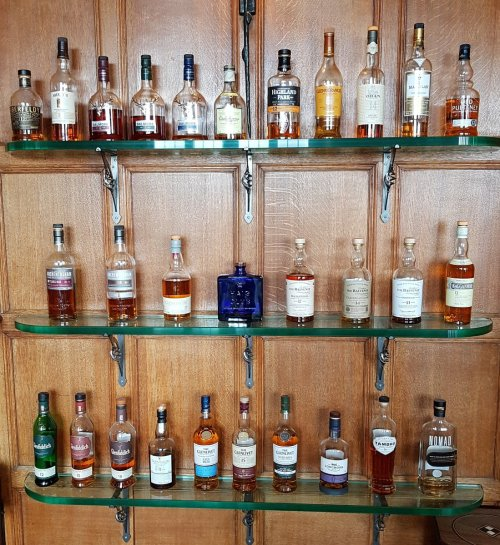 whisky Shelving