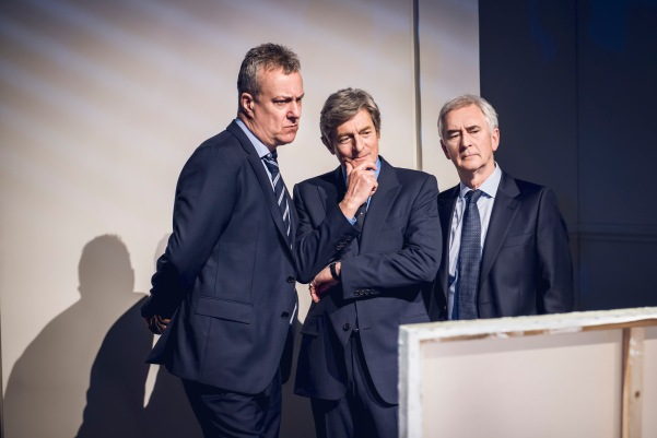 ART - Stephen Tompkinson, Nigel Havers & Denis Lawson (4) credit Matt Crockett