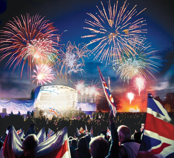 Battle Proms Spectacular firework finale