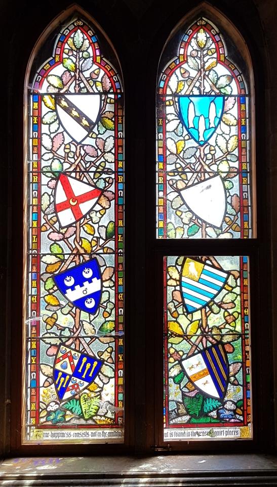 Ettington Stained window